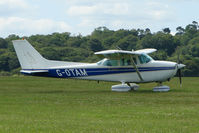 G-OTAM @ EGTB - Visitor to 2009 AeroExpo at Wycombe Air Park