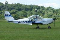 G-CCZZ @ EGTB - Visitor to 2009 AeroExpo at Wycombe Air Park