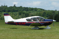 G-KENW @ EGTB - Visitor to 2009 AeroExpo at Wycombe Air Park