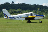 G-ATOR @ EGTB - Visitor to 2009 AeroExpo at Wycombe Air Park