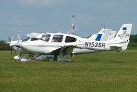 N153SR @ EGTB - Visitor to 2009 AeroExpo at Wycombe Air Park - by Terry Fletcher