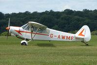 G-AWMF @ EGTB - Visitor to 2009 AeroExpo at Wycombe Air Park