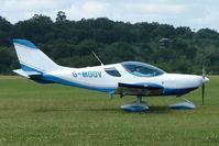 G-MOOV @ EGTB - Visitor to 2009 AeroExpo at Wycombe Air Park