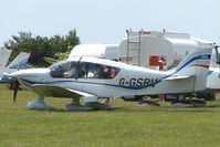 G-GSRV @ EGTB - Visitor to 2009 AeroExpo at Wycombe Air Park
