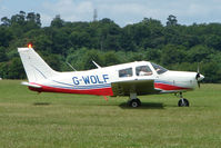 G-WOLF @ EGTB - Visitor to 2009 AeroExpo at Wycombe Air Park