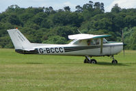 G-BCCC @ EGTB - Visitor to 2009 AeroExpo at Wycombe Air Park