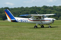 G-BCUY @ EGTB - Visitor to 2009 AeroExpo at Wycombe Air Park