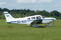 OO-NZF @ EGTB - Visitor to 2009 AeroExpo at Wycombe Air Park
