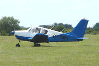 G-TIMY @ EGTB - Visitor to 2009 AeroExpo at Wycombe Air Park