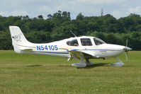 N54105 @ EGTB - Visitor to 2009 AeroExpo at Wycombe Air Park