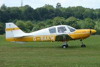 G-BAKW @ EGTB - Visitor to 2009 AeroExpo at Wycombe Air Park