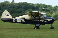 G-BUVA @ EGTB - Visitor to 2009 AeroExpo at Wycombe Air Park