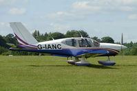 G-IANC @ EGTB - Visitor to 2009 AeroExpo at Wycombe Air Park