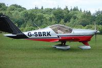 G-SBRK @ EGTB - Visitor to 2009 AeroExpo at Wycombe Air Park