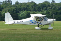 G-SARM @ EGTB - Visitor to 2009 AeroExpo at Wycombe Air Park