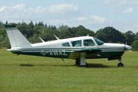 G-AWAZ @ EGTB - Visitor to 2009 AeroExpo at Wycombe Air Park