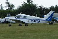 G-AVSP @ EGTB - Visitor to 2009 AeroExpo at Wycombe Air Park