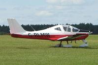 G-RLMW @ EGTB - Visitor to 2009 AeroExpo at Wycombe Air Park