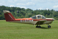 G-GTHM @ EGTB - Visitor to 2009 AeroExpo at Wycombe Air Park