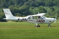 G-JABJ @ EGTB - Visitor to 2009 AeroExpo at Wycombe Air Park