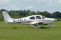 G-CRLA @ EGTB - Visitor to 2009 AeroExpo at Wycombe Air Park