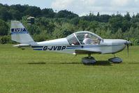 G-JVBP @ EGTB - Visitor to 2009 AeroExpo at Wycombe Air Park