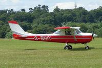 G-BHIY @ EGTB - Visitor to 2009 AeroExpo at Wycombe Air Park