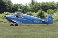 G-AWVB @ EGTB - Visitor to 2009 AeroExpo at Wycombe Air Park