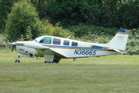 N36665 @ EGTB - Visitor to 2009 AeroExpo at Wycombe Air Park