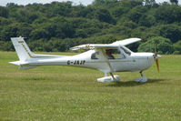 G-JAJP @ EGTB - Visitor to 2009 AeroExpo at Wycombe Air Park
