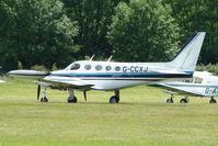 G-CCXJ @ EGTB - Visitor to 2009 AeroExpo at Wycombe Air Park