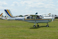 G-EGSJ @ EGTB - Visitor to 2009 AeroExpo at Wycombe Air Park