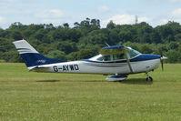 G-AYWD @ EGTB - Visitor to 2009 AeroExpo at Wycombe Air Park