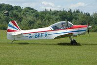 G-BKFR @ EGTB - Visitor to 2009 AeroExpo at Wycombe Air Park