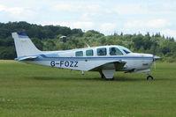 G-FOZZ @ EGTB - Visitor to 2009 AeroExpo at Wycombe Air Park