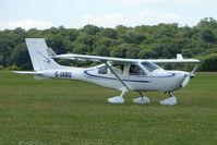 G-JABU @ EGTB - Visitor to 2009 AeroExpo at Wycombe Air Park