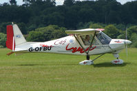 G-OFBU @ EGTB - Visitor to 2009 AeroExpo at Wycombe Air Park