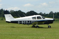 G-BCDJ @ EGTB - Visitor to 2009 AeroExpo at Wycombe Air Park