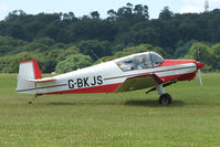G-BKJS @ EGTB - Visitor to 2009 AeroExpo at Wycombe Air Park