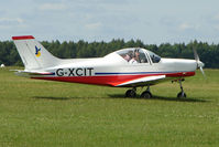G-XCIT @ EGTB - Visitor to 2009 AeroExpo at Wycombe Air Park