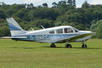G-BMPC @ EGTB - Visitor to 2009 AeroExpo at Wycombe Air Park
