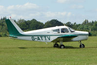 G-ATTV @ EGTB - Visitor to 2009 AeroExpo at Wycombe Air Park