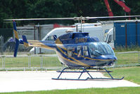 G-HNLY @ EGTB - Visitor to 2009 AeroExpo at Wycombe Air Park