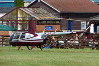 G-WEAT @ EGTB - Visitor to 2009 AeroExpo at Wycombe Air Park