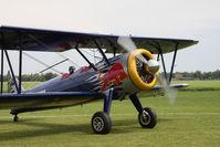 OE-AMM @ LOWF - Boeing E 75