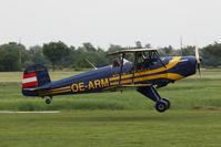 OE-ARM @ LOWF - Tatra T-131PA Jungmann