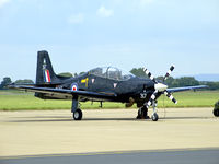 ZF317 @ EGXU - 1FTS Tucano seen at its home base - by Mike stanners