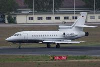 D-AZEM @ TXL - Dassault falcon 900EXE