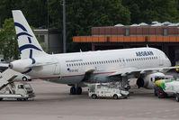 SX-DVU @ TXL - Aegean Airlines Airbus A320-232