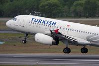 TC-JPC @ TXL - Turkish Airlines Airbus A320-232